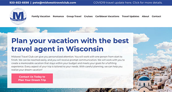 Midwest Travel Club site