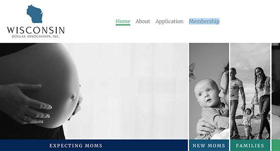 Wisconsin Doulas, a Green Bay Web Design